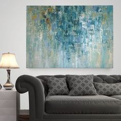 Shop for Wexford Home 'I Love the Rain' Multicolored Gallery Wrapped Canvas (3 Sizes Available). Get free delivery at Overstock.com - Your Online Art Gallery Store! Get 5% in rewards with Club O!