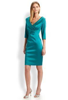 c17f86af03 Brooks Brothers Pinstripe Stretch-Wool Jacket Dress