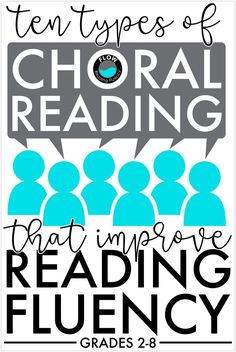 Teaching reading fluency can be so much fun, especially when you use choral reading. Learn 10 different types of choral reading that are perfect for grades You'll also get 10 lesson plans and 50 poems, so you'll have everything you need to implement Reading Fluency Activities, Reading Groups, Reading Resources, Reading Strategies, Reading Comprehension, Reading Stations, Parent Resources, 3rd Grade Reading, Student Reading