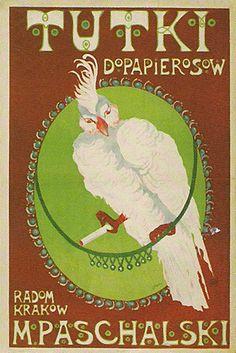 rolling paper art | Karol Frycz – Rolling papers advertisement (1908)