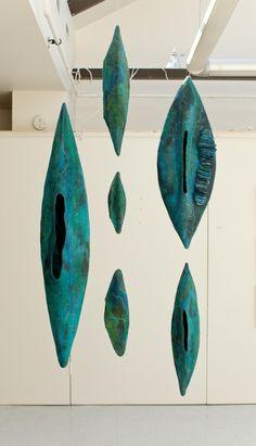 Fiber sculpture - Andrea Graham Feltmaking, a spiritual experience – Fiber sculpture