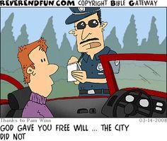 """ReverendFun.com : Cartoon for Mar 14, 2008: """"City Don't Care"""""""