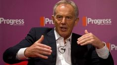 """The Labour Party risks """"annihilation"""" if Jeremy Corbyn wins the party's leadership contest, former prime minister Tony Blair has warned. In an impassioned letter printed in the Guardian, Mr Blair said the party was walking """"over the cliff's edge"""". His comments come as Yvette Cooper is set to criticise Mr Corbyn, saying his policies are not """"credible""""."""