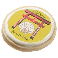 ホタテ ROUND SHORTBREAD COOKIE - decor gifts diy home & living cyo giftidea