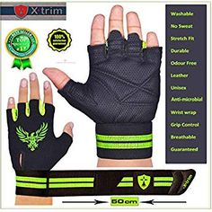 Wrist Wrap Gym Grey colour Leather Gym Workout Gloves Fitness Gloves XL Size US Gym Gloves, Workout Gloves, Weight Lifting Gloves, Yoga Equipment, Lift Heavy, Gym Training, Powerlifting, Gym Workouts, Leather Men