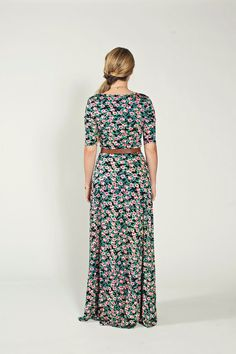 ANA DRESS — LuLaRoe// I like the flower print and coloos