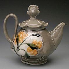Jen Allen grey teapot