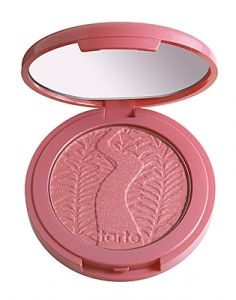 """Amazonian clay 12-hour shimmering blush- """"i love this in all shades! i switch everyday, but if i have to choose, glisten and tipsy are my favorites. i am obsessed with blush and these 12-hour blushes are my absolute favorite tarte product."""" #colorsofsummer  http://tartecosmetics.com/tarte-item-Amazonian-clay-12-hour-shimmering-blush#"""