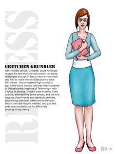 Gretchen Grundler by Just-AO on DeviantArt Disney Fan Art, Disney Fun, Recess Cartoon, Cartoon List, Sims 4 Cas, Disney Channel, Cartoon Characters, Middle School, Comic Art