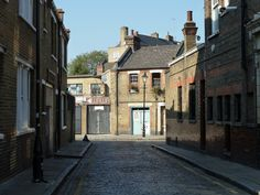 """Ezra Street, London doubled as Chinatown in """"The Lost Mine"""" Vintage London, Old London, East End London, Bethnal Green, London History, London Photography, London Life, London Photos, Filming Locations"""