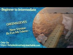 🍀 Harp Sheet Music    Greensleeves - 2020 Version By Eve McTelenn Piano Music, Sheet Music, 27 Years Old, English, Play, Eve, Let It Be, Songs, Learning
