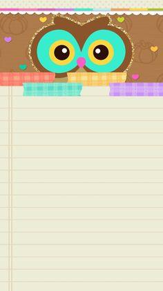ideas for wall paper fofos femininos coruja Wallpaper Chevron, Owl Wallpaper, Summer Wallpaper, Hello Kitty Wallpaper, Locked Wallpaper, Screen Wallpaper, Disney Wallpaper, Pattern Wallpaper, Marshmello Wallpapers