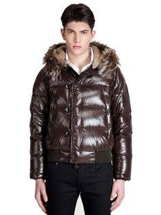 High fashion Moncler Men Bulgarie Dark Brown Jacket Just $248 CLICK IT!!