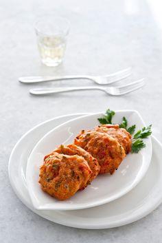 ''Tomatokieftedes Santorinis'' : A classic greek specialites from Santorini.