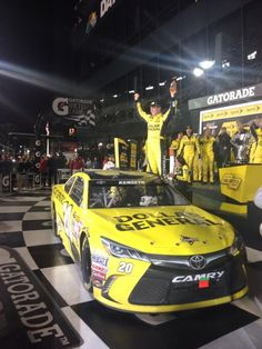 """@NASCAR_ONE: Here's your #SprintUnlimited winner! Congrats @mattkenseth!"""