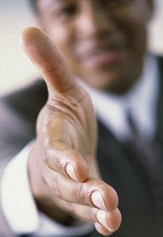 A Firm Handshake is key to interview success, say scientists - Professor Stewart said: 'we found that the first impression begins with a handshake that sets the tone for the rest of the interview.  'We don't consciously remember a person's handshake but it is one of the first non-verbal clues we get about the person's overall personality, and that impression is what we remember.'