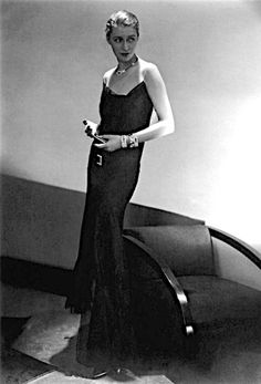 Marion Morehouse in Chanel ca. 1929 photo: Edward Steichen