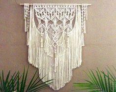 Macrame Wall Hanging Tapestry Woven Wall Hanging Bohemian Wall