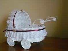 Robótkowy świat Ines: Papierowa wiklina - wózek
