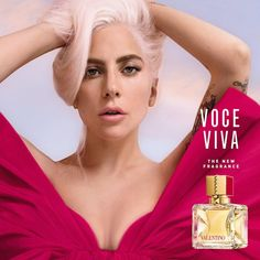 Voce Viva Eau de Parfum - Valentino | Sephora Perfume Ad, Perfume Oils, Perfume Scents, Vintage Perfume, Lady Gaga, Valentino Parfum, Vanilla Perfume, Perfume Samples, Hair