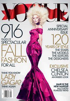 2012 Lady Gaga Photographed by Mert Alas and Marcus Piggott