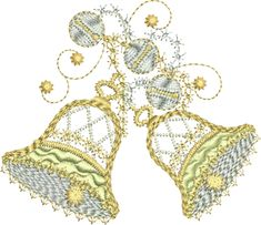 Sue Box Creations | Download Embroidery Designs | 05 - Bells