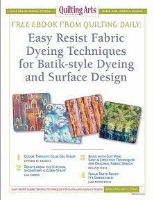 resist dyeing batik techniques