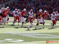 Jack Hoffman just might go down as the biggest star of the Nebraska spring game. The 7 year-old from Atkinson, Neb., has won the hearts of fans and everyone in the football program for his courageous bout with brain cancer. He took a handoff from Taylor Martinez. and followed him into the end zone to mob him after his 69-yard touchdown.
