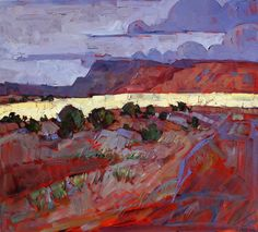 New Mexico Oil Painting by Erin Hanson
