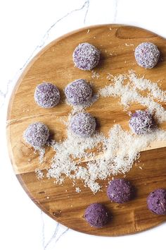 Blueberry breakfast Balls