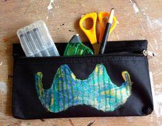 Mustache Pencil Case by CBDesignsPR on Etsy, $10.50