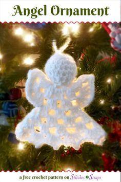 Crochet Ornament Patterns, Crochet Angel Pattern, Holiday Crochet Patterns, Christmas Knitting Patterns, Quilling Patterns, Christmas Angel Ornaments, Crochet Christmas Decorations, Crochet Christmas Ornaments, Crochet Decoration