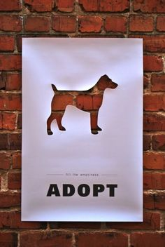 clever adopt flyer