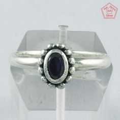 6.5 US Silver Ring, Silvex Images 925 Sterling Silver With Amethyst Ring R4011 #SilvexImagesIndiaPvtLtd #Statement