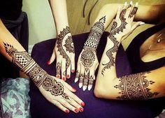 Beautiful Mendhi designs
