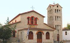 Church in Kriopigi #Halkidiki  http://kriopigibeach.gr/ #HotelKriopigi #Grece