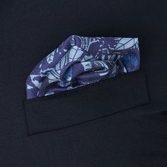 Exquisite Trimmings   Accessories   Pocket-Squares   Navy Tiger Face Silk Pocket Square Turnbull & Asser has an illustrious history and heritage, the brand is renowned for dressing prominent royalty, politicians and actors over the last 130 years in exceptional quality products. Turnbull & Asser is synonymous with timeless style and unsurpassed quality.   Using the finest silk and traditional printing menthods, Turnbull & Asser create distinguished and stylish pocket squares.   This square…