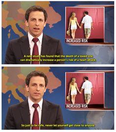 Hahahaha Seth Meyers