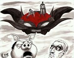 Morrison Batman Ghost Rides the Whip