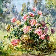 DPF The grass flower diamond painting cross stitch crafts diamond mosaic square wall painting diamond embroidery home decor Art Floral, Oil Painting Reproductions, Cross Paintings, Beautiful Paintings, Oeuvre D'art, Painting & Drawing, Flower Art, Watercolor Art, Decoupage