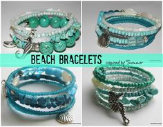 NorthShore Days.....: More Beachy Bracelets