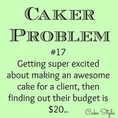 Oh yeah, gotta love 'em! #cakerproblems #cakestyle www.youtube.com/user/cakestyletv