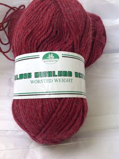Plymouth Galway Worsted Weight Destash by TiltedCousins on Etsy