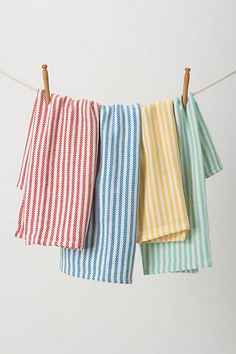 THESE TOO.  K THANKS :) Wash & Dry Dishtowels  #anthropologie