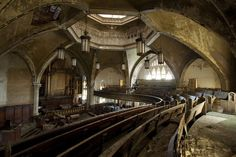 http://www.abandonedplaygrounds.com/abandoned-presbyterian-church-of-woodward-avenue/