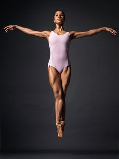 Ballerina Misty Copeland is photographed for Self Assignment on April 2016 in New York City. Get premium, high resolution news photos at Getty Images Misty Copeland, Black Dancers, Ballet Dancers, Ballet Leotards, Kids Leotards, Gymnastics Leotards, Black Ballerina, American Ballet Theatre, Dance Poses