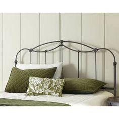 Fashion Bed Group Affinity Metal Headboard Panel with Straight Spindles and Detailed Castings | Overstock.com Shopping - The Best Deals on Headboards