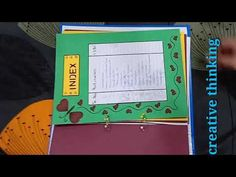 Latest design for project file - YouTube Physics Projects, Chemistry Projects, File Decoration Ideas, Page Decoration, Hand Crafts For Kids, Craft Projects For Kids, Project Ideas, Bullet Journal Lettering Ideas, Bullet Journal Books