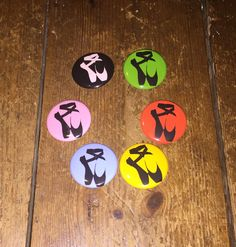 Christmas time badges at Muffin ink