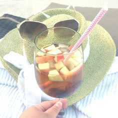 Ellie's Summer Wine Spritzer!  Delicious, Bubbly, & Refreshing